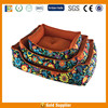 Printed Fabrics supply durable pet pillow dog bed with memory foam