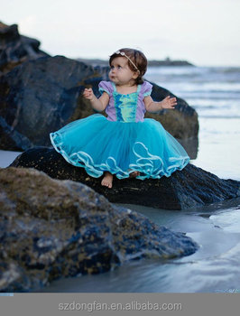Infant Baby Mermaid Tutu Dress Girls Snow White Princess Birthday Party Dress Buy Birthday Dress For Baby Girl Infant Baby Mermaid Tutu Dress Girls