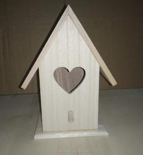 Paulownia wood bird house factory supply