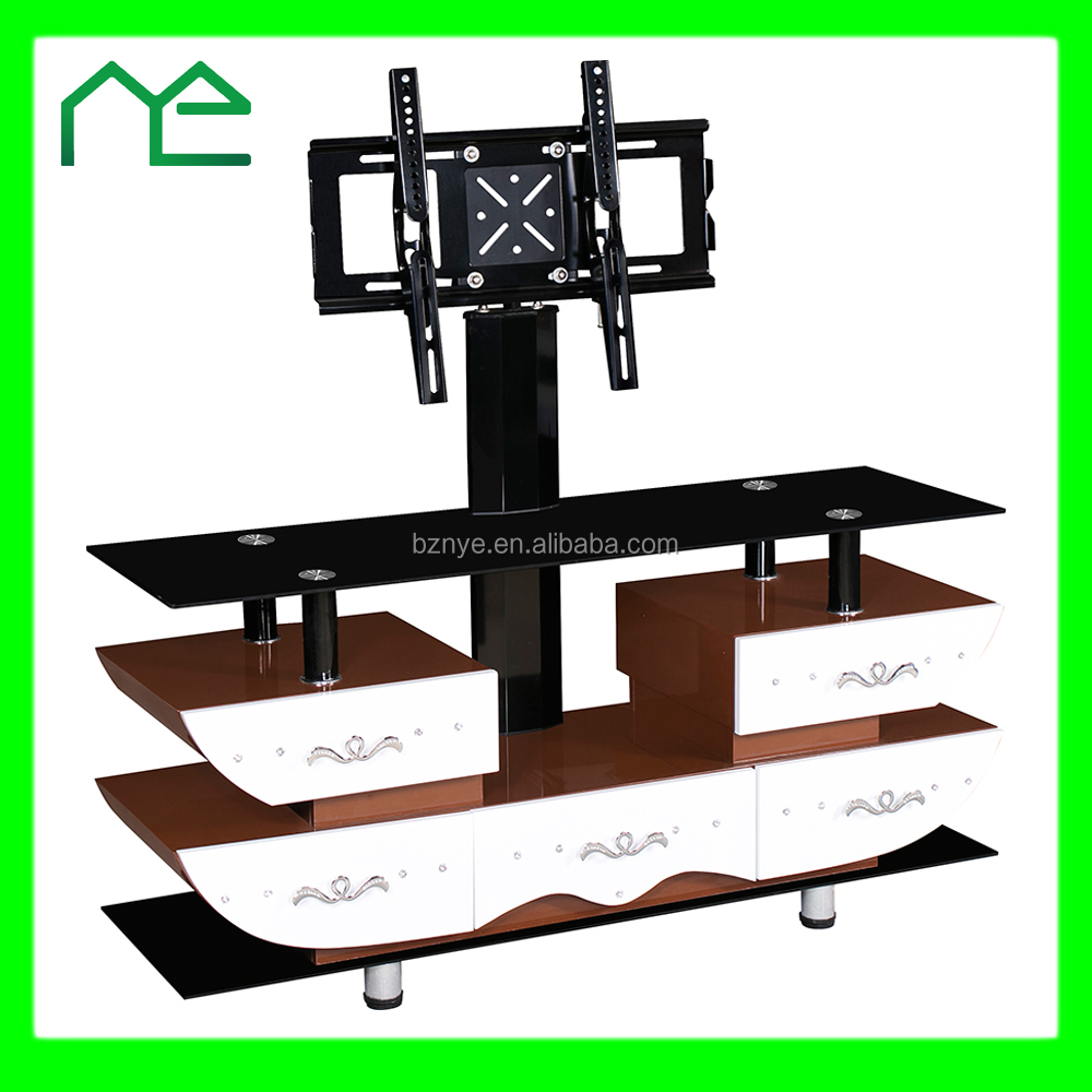 Modern italy television stand / hanging tv stand with drawers