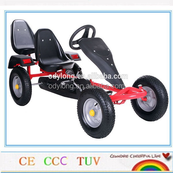 heavy duty two person pedal cars for adults