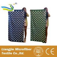 Promotional Microfiber Towel With Good Water Absorption, Comfortable Texture and Unfading Printing