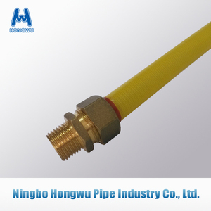 304 flexible gas male connector