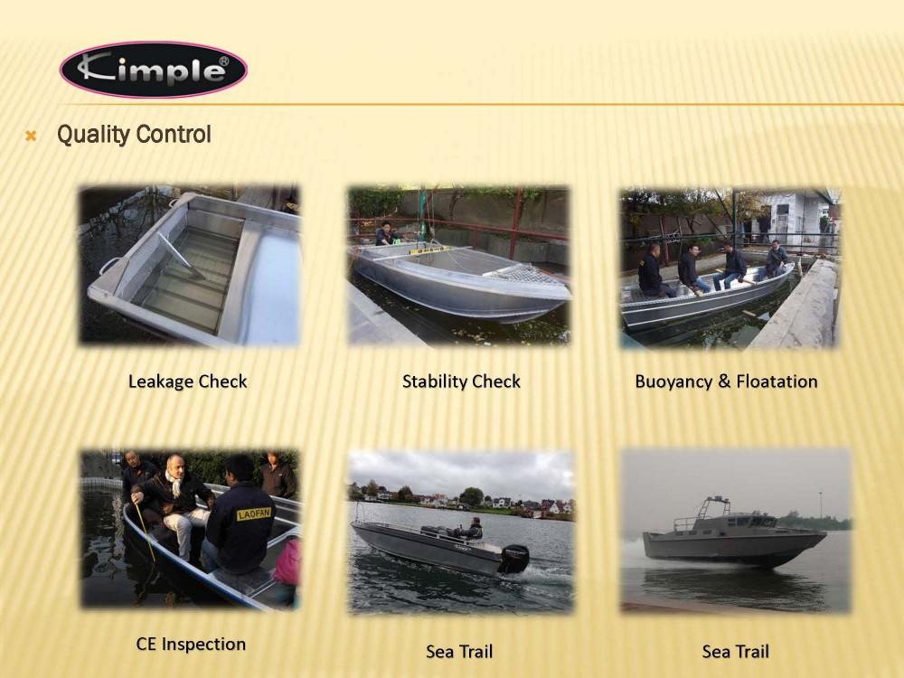 Aluminum Alloy Boat - 395 Laker Fishing Boat