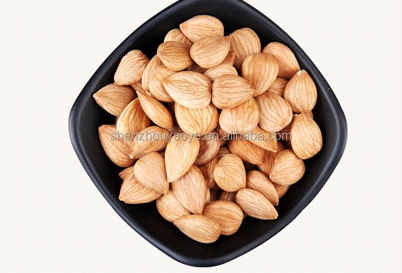 Good taste without shell Bulk Organic Sweet Apricot Kernels/Variety kinds of taste