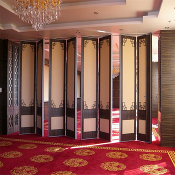 Good Quality Folding Design Decorative Movable Office Partition