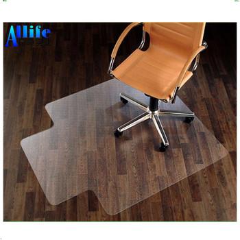 Pvc Home Desk Office Chair Floor Mat Protector For Hard Wood Floors 47 X 35 Pvcchair Officechair Hardwood