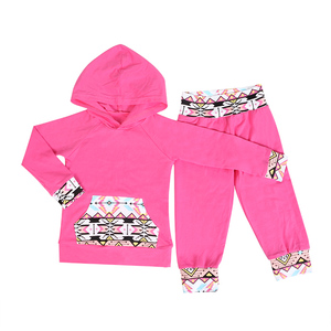 Wholesale children clothes girls fancy girls boutique clothing sets