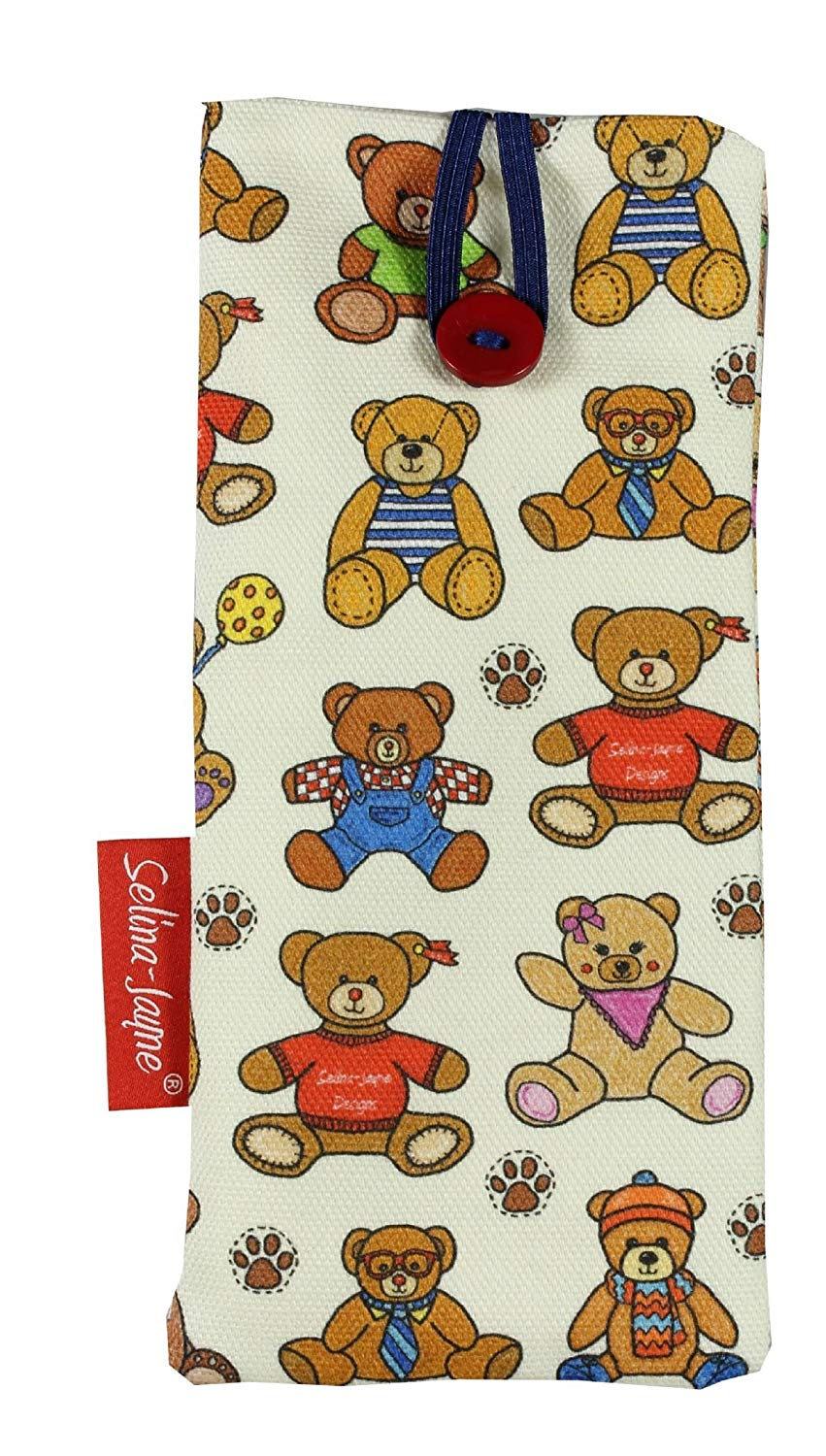 d4521128b9dd Get Quotations · Selina-Jayne Teddy Bears Limited Edition Designer Soft  Fabric Glasses Case