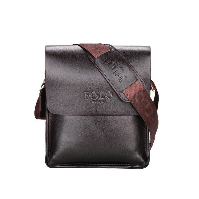 VICUNA POLO Brand Men s Crossbody Bag Personality Retro Brown Cheap Small  Sling Bag 5c4f108665103