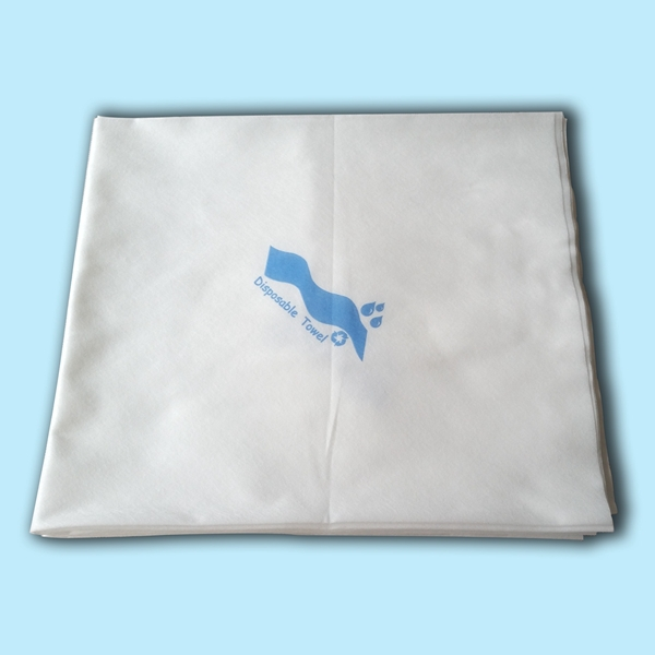 2015 hot sell spunlaced non-woven patient wipes for healthcare cleaning