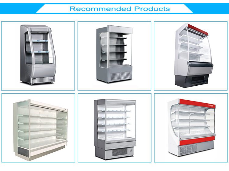 Supermarket Commercial Plug in Open Multideck Display Cooler
