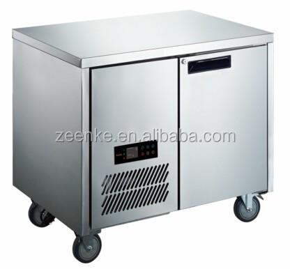 2 Tür Edelstahl Kommerziellen Unterbau Kühlschrank/Chiller Kühlschrank/Unter  Bar Kühlschrank