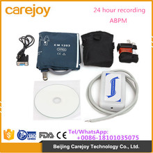 Automatic digital 24 hour recording BP holter ABPM Ambulatory Blood Pressure Monitor with USB port
