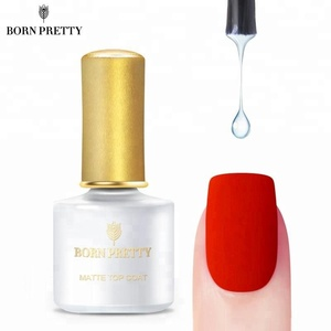 BORN PRETTY 6ml Nail Gel Polish Soak Off No Sticky Layer Matte Top Coat Gel Polish