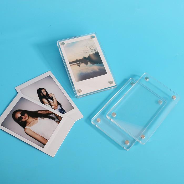 Mini Magnetic Doppelseitige Durchsichtigen Bilderrahmen Plexiglas ...