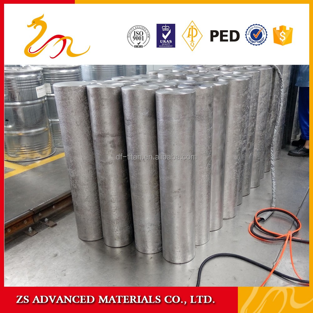 ZS Advanced the best price pure titanium ingot for sale