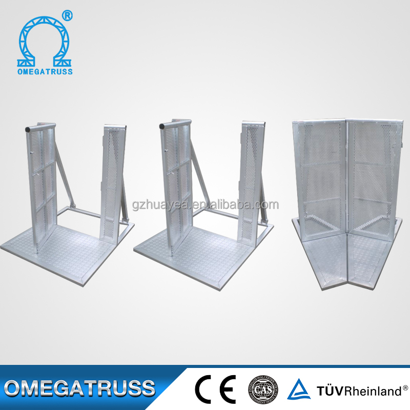 Aluminum alloy material baffle 2mm thickness highway safety barrier