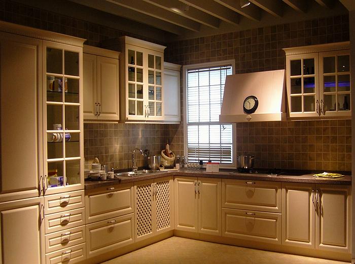 Classical Pvc Kitchen Furniture,Kitchen Cabinet,Fiber Kitchen ...