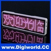 LED name tags digital display digital badge