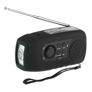 made in china CE Approved handheld hand crank radio with sd card slot