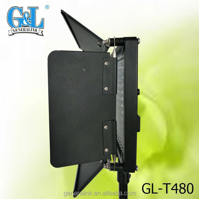 Studio Broadcast Shooting Led Video Panel Light Kit Gl-t480