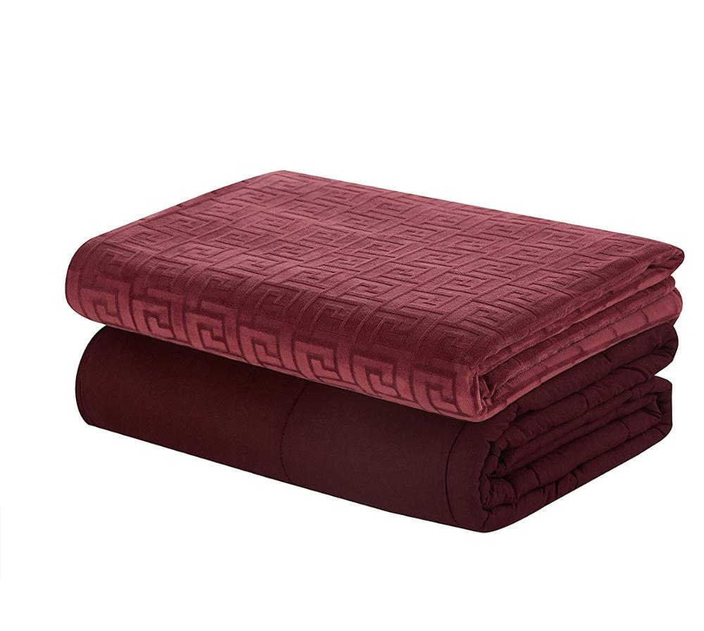 Mink Duvet Cover Gravity Weighted Blanket For Sleepstress And