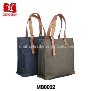 Fashion Waterproof Canvas Tote Bag Men S Business Laptop Handbag