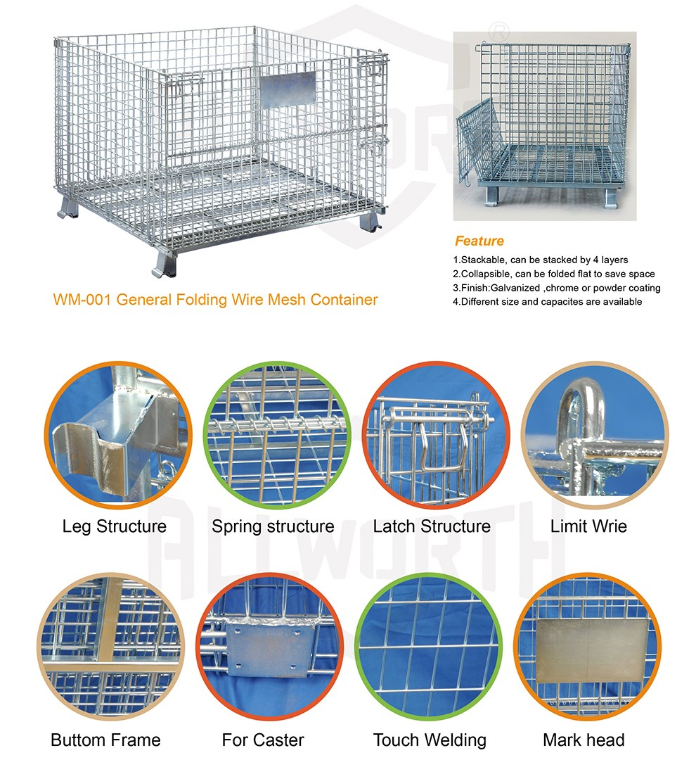 Store Fixtures Galvanized Wire Basket - Buy Wire Basket,Wire Basket ...