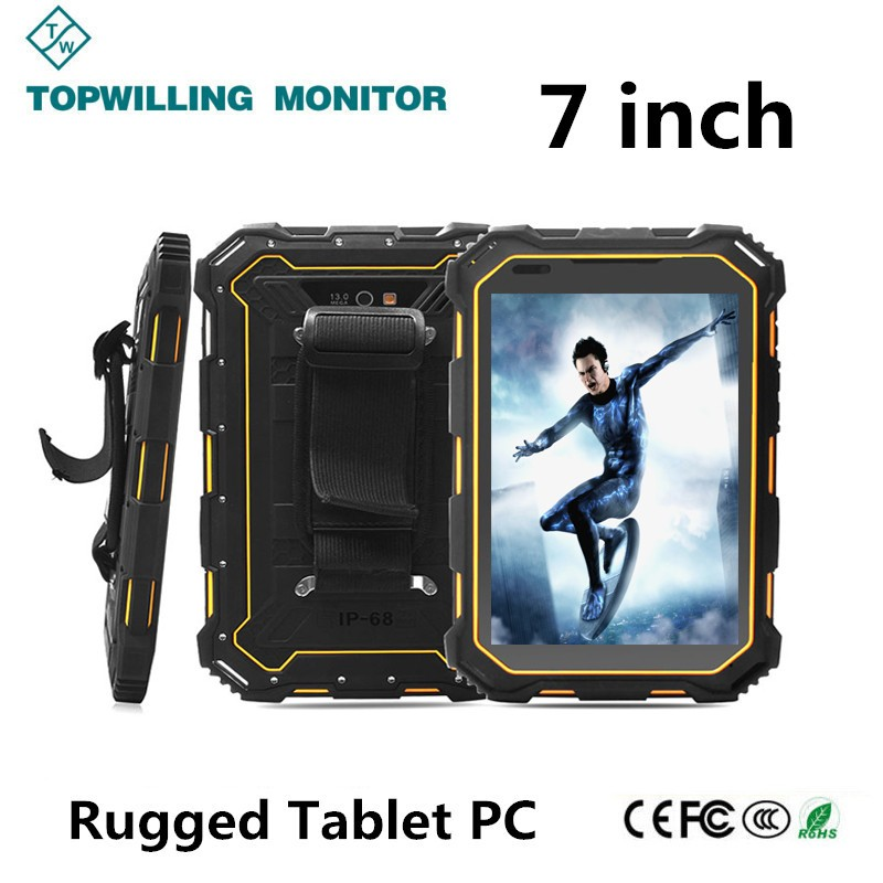 Industrial Grade 7 inch Android 4.4 Capacitive Rugged Tablet PC 8.0M Back Camera