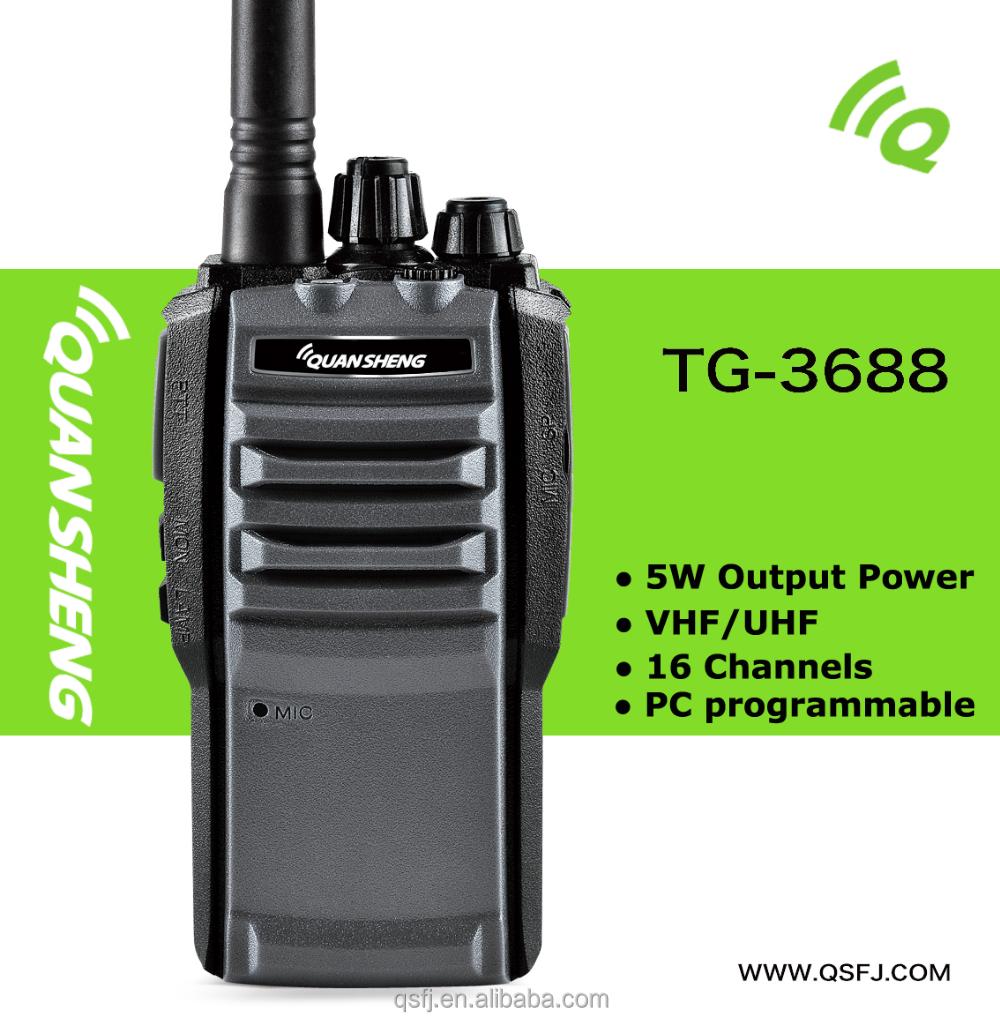 Quansheng Tg-3688 Military Radio 350`390mhz Vhf/uhf Handheld Radio - Buy  Military Radio,Military Radio,Vhf/uhf Handheld Radio Product on Alibaba com
