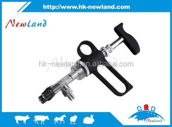 Double barrel Veterinary Continuous Injector