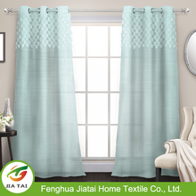 luxury curtains and drapes Voile & Cloth high quality jacquard decorative curtains cloth,curtains for manufactured home