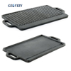 Large Cast Iron Reversible Non stick Griddle Plate