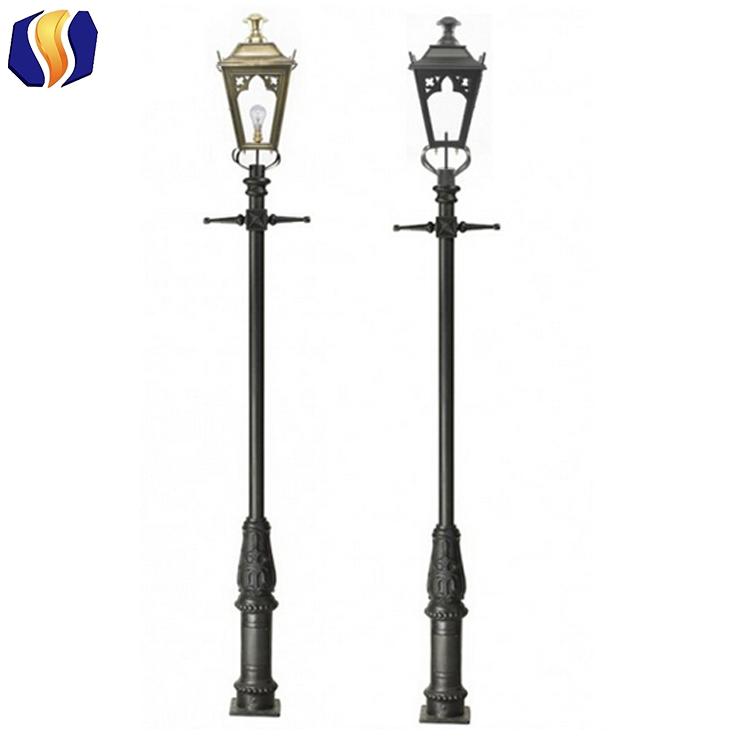 Cast Iron Outdoor Light Pole Garden