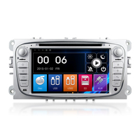 Winmark 7 Inch Double Din Radio Car DVD Player With GPS Bluetooth Radio Mirror-Link Mstar2531 For FORD Focus (2007 - 2010)