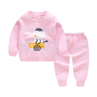 New spring baby cartoon sweater for boys and girls 0-3t out wear