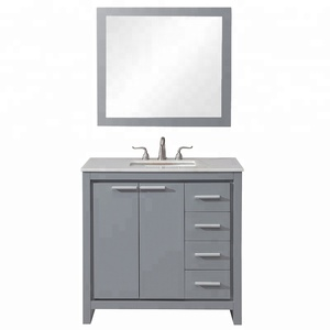Factory Cheap Single Sink Vanity Cabinet Living Room Furniture Sets