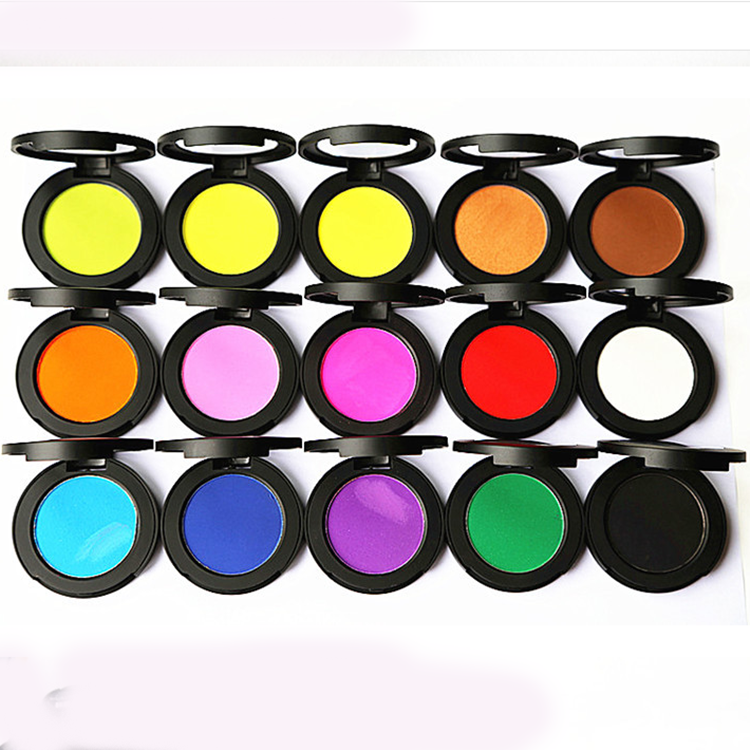 12 Colors Hair Dye One-off Hair Coloring powder cake