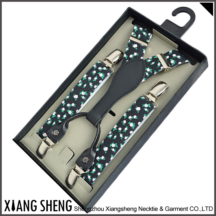 Wholesale Custom Made Fashion Suspenders For Men