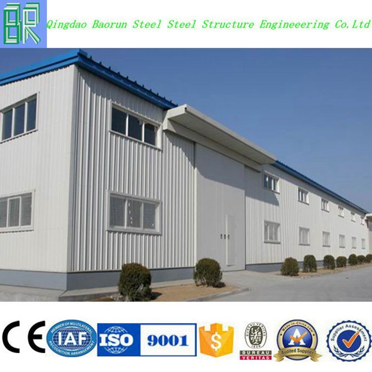 Professional steel construction prefabricated storage warehouse