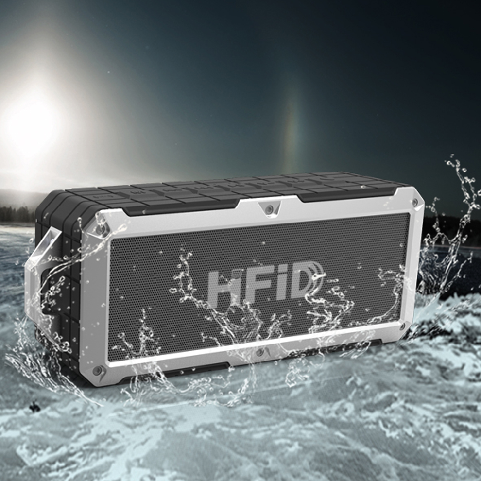 2016 hot sale ipx7 waterproof <strong>bluetooth</strong> 4.0 stereo shower speaker
