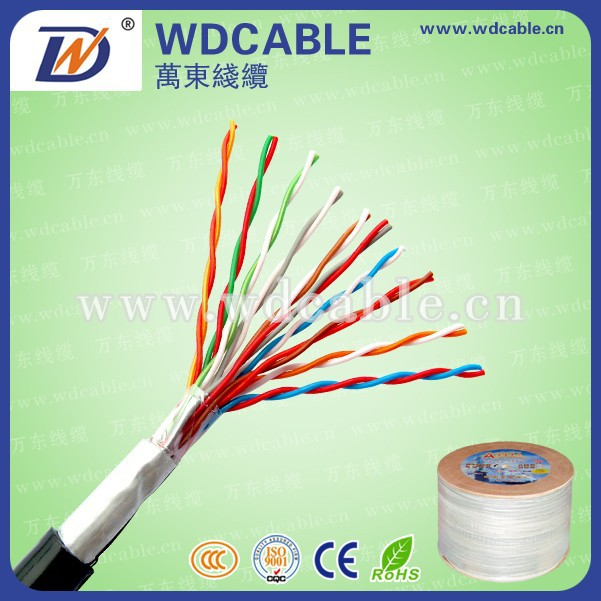high Quality Indoor Outdoor Cat5e UTP 4/25/50/100 Pairs Lan/Network/Communication/Telephone Cable