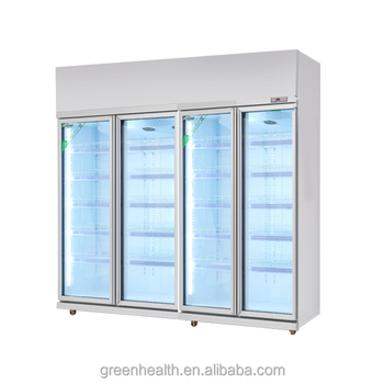 Greenhealth Canteen Display Fridge Used Can Cooler For Supermarket