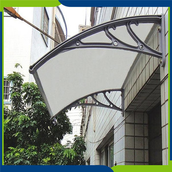 Powerful Reliable Rain Awning Polycarbonate Canopy Design Shed Material