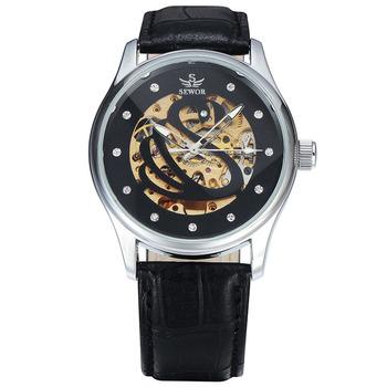 Por Mayor Hombres Ocio Plástico Negocios Aleación Sewor Los Al De Buy Reloj Moda Espejo Cristal L5q34ARj