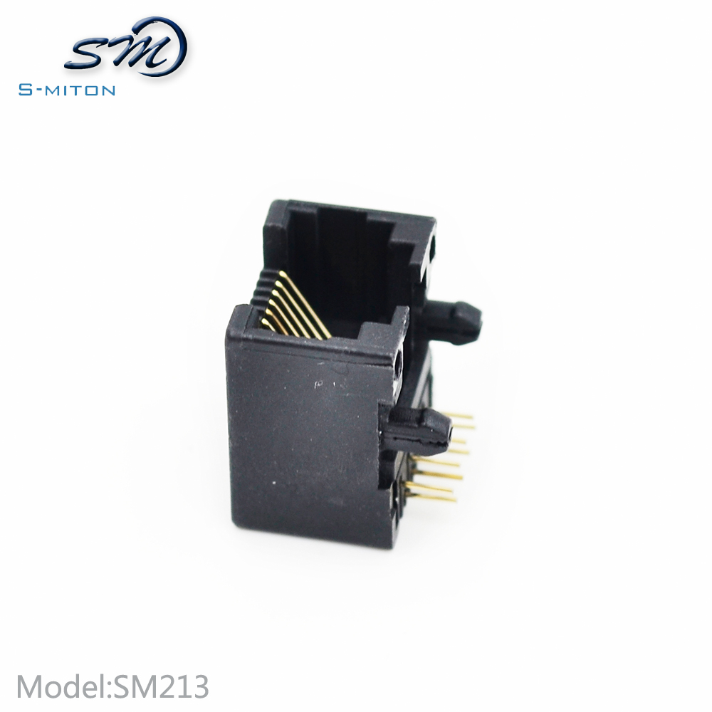 pcb mounting rj45 8p8c jack 95001 network connector