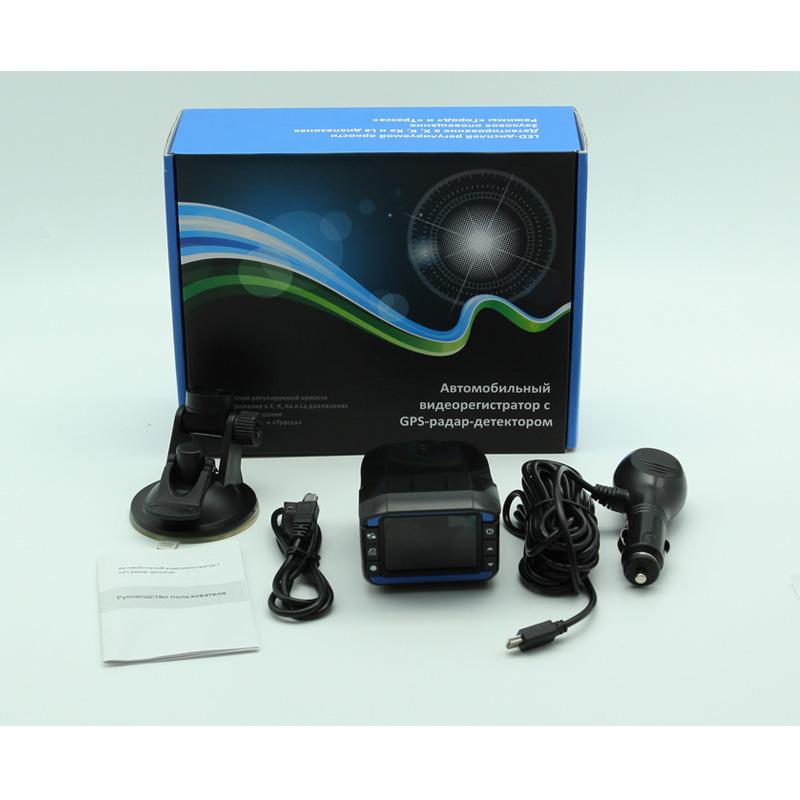 Новый автомобиль анти-радар-детектор детекторы DVR + GPS 3 в 1 определения скорости HD 1280 * 720 P g-сенсор поддержка русский голос