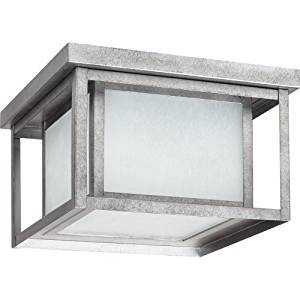 cheap outdoor lighting outdoor summer get quotations sea gull lighting 79039ble57 outdoor flush mount with seeded etched glass shades weathered cheap lighting find deals on