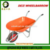 2016 New China DEJI various types of wheel barrow with high quality wheelbarrow wheels bearings
